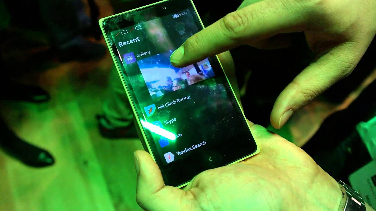 Hands on with Nokia XL