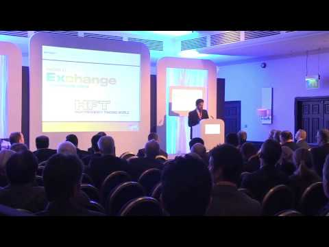 CEO Rashid Al Mansoori at the World Exchange Congress