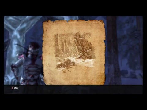 The Elder Scrolls Online: Orsinium Treasure Map 2 Location