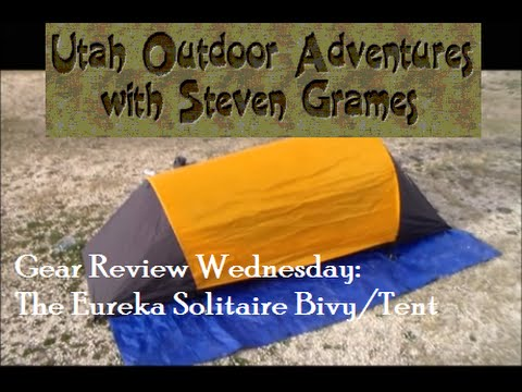 Gear Review Wednesday The Eureka Solitaire Bivy/Tent & Gear Review Wednesday: The Eureka Solitaire Bivy/Tent - YouTube