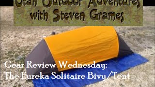 Gear Review Wednesday: The Eureka Solitaire Bivy/Tent