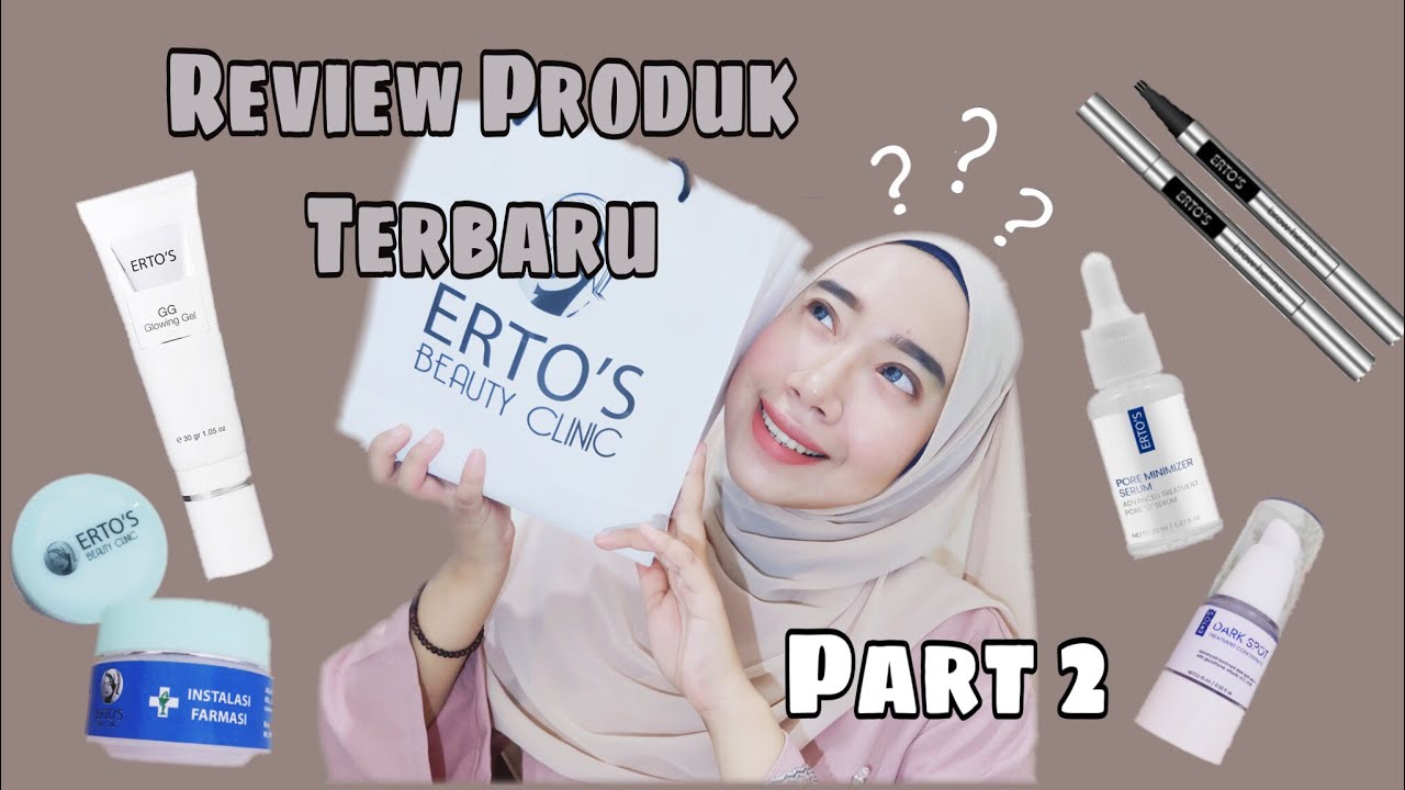 Review Produk Terbaru Ertos Pore Serum Dark Spot Brow Henna
