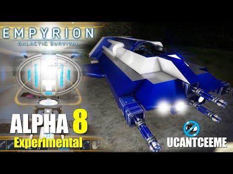 Empyrion Galactic Survival | Alpha 8 Experimental |  WARP DRIVE INSTALL | SV Remodel | Ep. 16