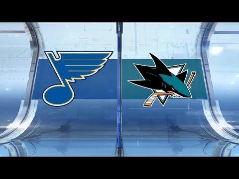 NHL Highlights | St.Louis vs. San Jose – Mar 9, 2019