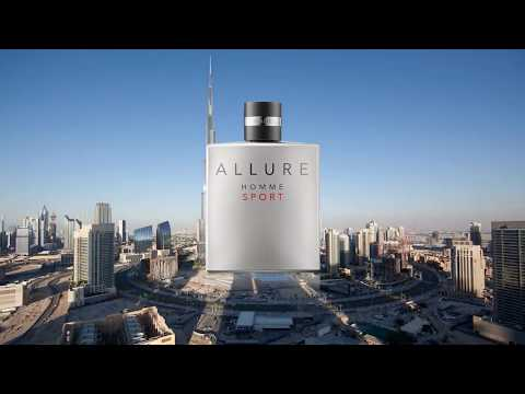 Allure Homme Sport Chanel advert