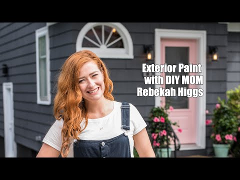 DIY MOM – How To Paint The Exterior Of Your Home