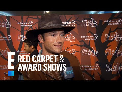 Scott Eastwood Dresses as His Father for Halloween | E! Live from the Red Carpet