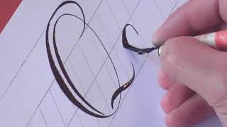How to write Copperplate (The Letters Q & q)