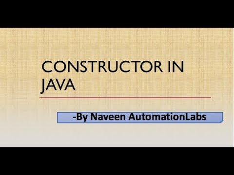 Constructor Concept and This Keyword in Java Mp3