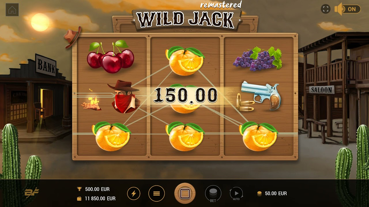 Wild Jack Remastered Slot Play Free ▷ RTP 96.1% & High Volatility video preview