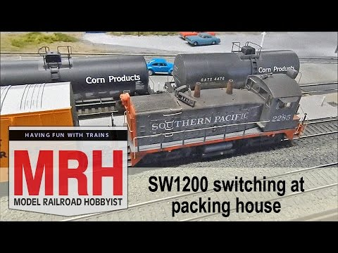 Switching at packing house | SP in California | Model Railroad Hobbyist |  MRH