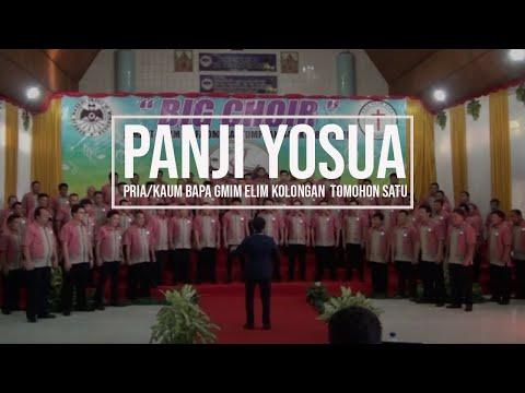 Panji Yosua _ Paduan Suara Pria Kaum Bapa GMIM