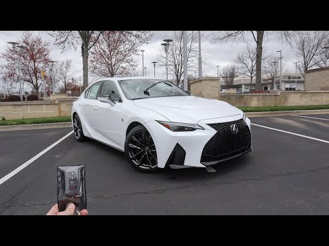 2021 Lexus IS 350 F Sport: Start Up, Exhaust, Test Drive and Review
