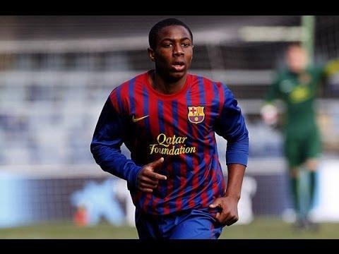 Adama Traore | Goals & Skills | FC Barcelona | 2013/14 ...