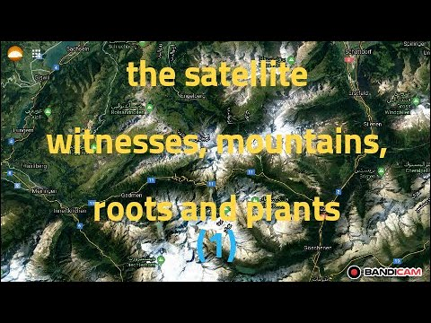 proof of flat earth 2020-The satellites testify that the mountains have roots and plants part one thumbnail