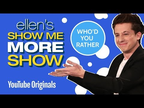 Charlie Puth Plays Who'd You Rather?