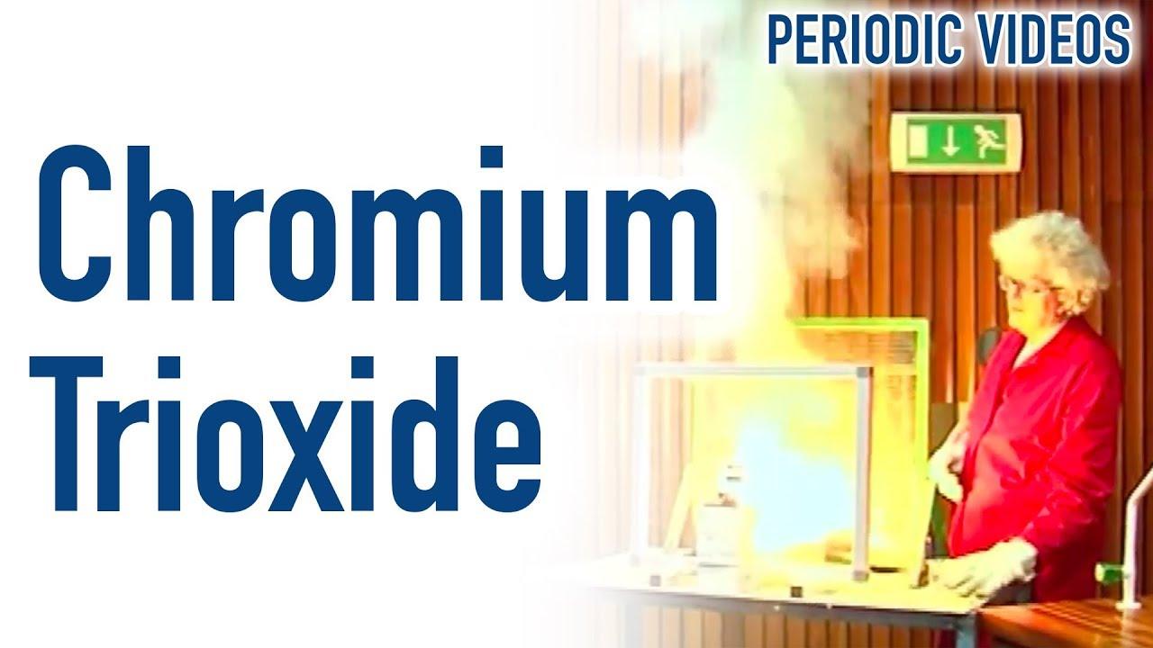 Chromium trioxide fail periodic table of videos youtube chromium trioxide fail periodic table of videos urtaz Choice Image