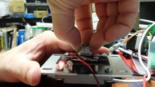 Stepper Motor with quadrature encoder