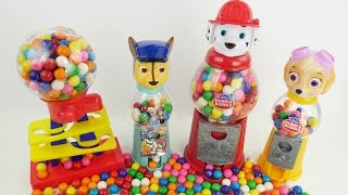 Paw patrol gumball candy machine