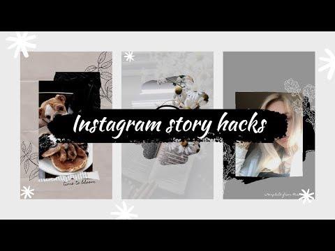 INSTAGRAM STORY HACKS 2019