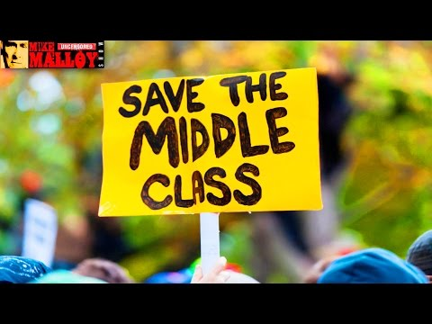 Middle Class Dying Off    Wall Street Exploits Food Crisis    Social Effects of Recession Showing