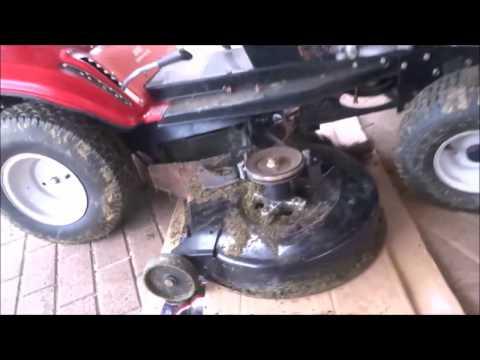Aufsitzmäher Aufsitzmäherrasentraktor B10 Mtd Power Bulit B&s Motor Mit 11ps Wenig Benutzt Rasenmäher