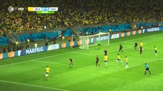 WM 2014 Halbfinale Brasilien - Deutschland, Komplettes Spiel