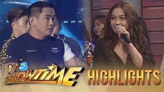 It's Showtime PUROKatatawanan: Jayson spoils Maja's joke