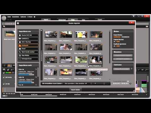 Importieren digitaler Medien in Pinnacle Studio 16 und 17 Video 5 von 114