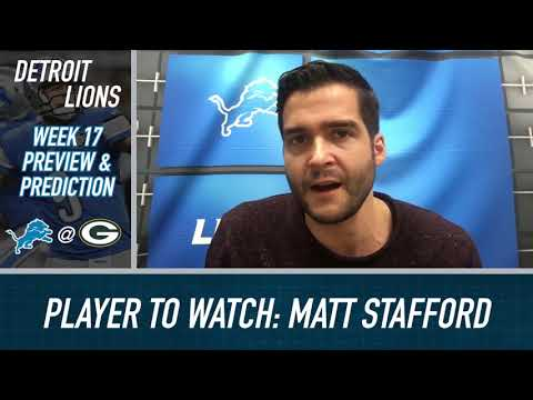 Lions vs Packers Preview and Prediction