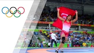 Rio Replay: Women's Freestyle 58kg Bronze Medal Match A
