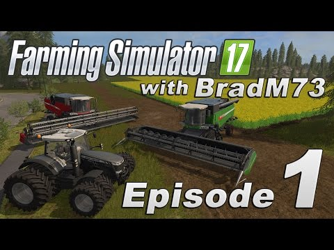 Farming Simulator 17 - Let's Play! - Episode 1 - Intro and Map Tour!!