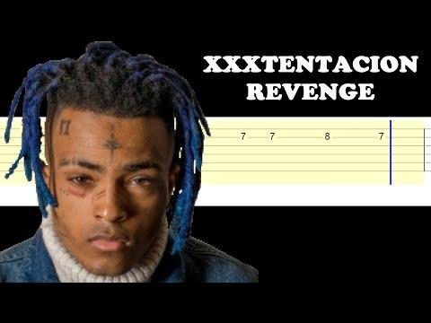 XxxTentacion - Revenge (Easy Guitar Tabs Tutorial)