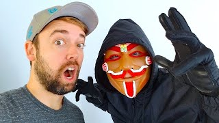 Gingerbread Man Hacks Our Channel!