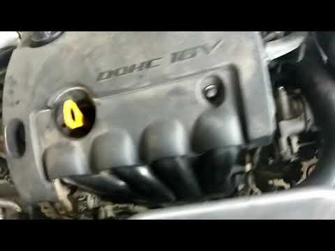 Работа двигателя на новой цепи ГРМ