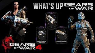 Gears of War 4 l What´s Up ´l Nuevos skins T5 l Skins Spacestation y más l  1080p Hd