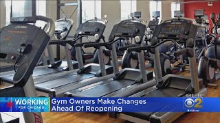 Gym Owners Make Changes Ahead Of Reopening