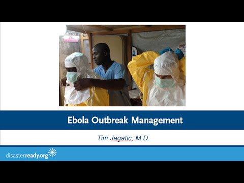 Webinar: Ebola Outbreak Management