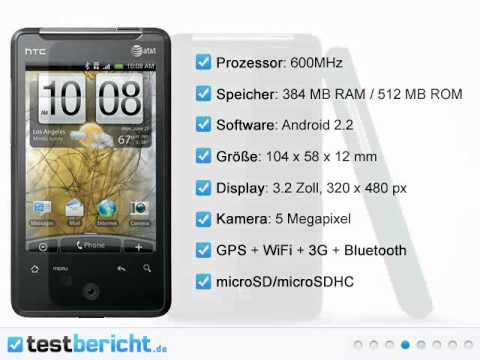 HTC Gratia Übersicht