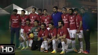 UNCUT: Ranbir Kapoor, Arjun Kapoor Abhishek Bahchchan & Other Celebs Play Football For Charity