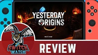 Yesterday Origins Nintendo Switch Review
