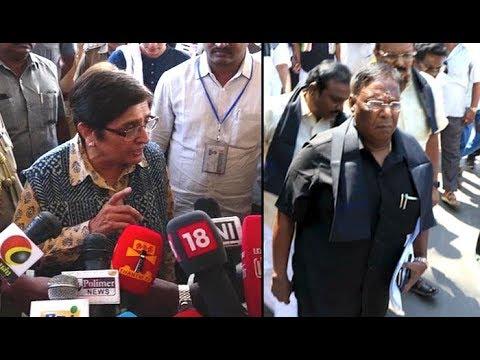 Kiran Bedi: Narayanasamy is a law-breaker and not a lawmaker Mp3