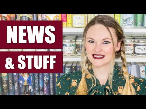 Download Youtube: News & Stuff #17 - Fantastic Beasts, SJ Maas, Cover Reveals, Star Wars & More!