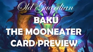 Baku the Mooneater and Odd-Cost decks (Hearthstone The Witchwood card review)