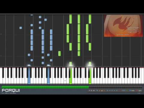Fairy Tail Opening 21 - Believe In Myself (Synthesia)