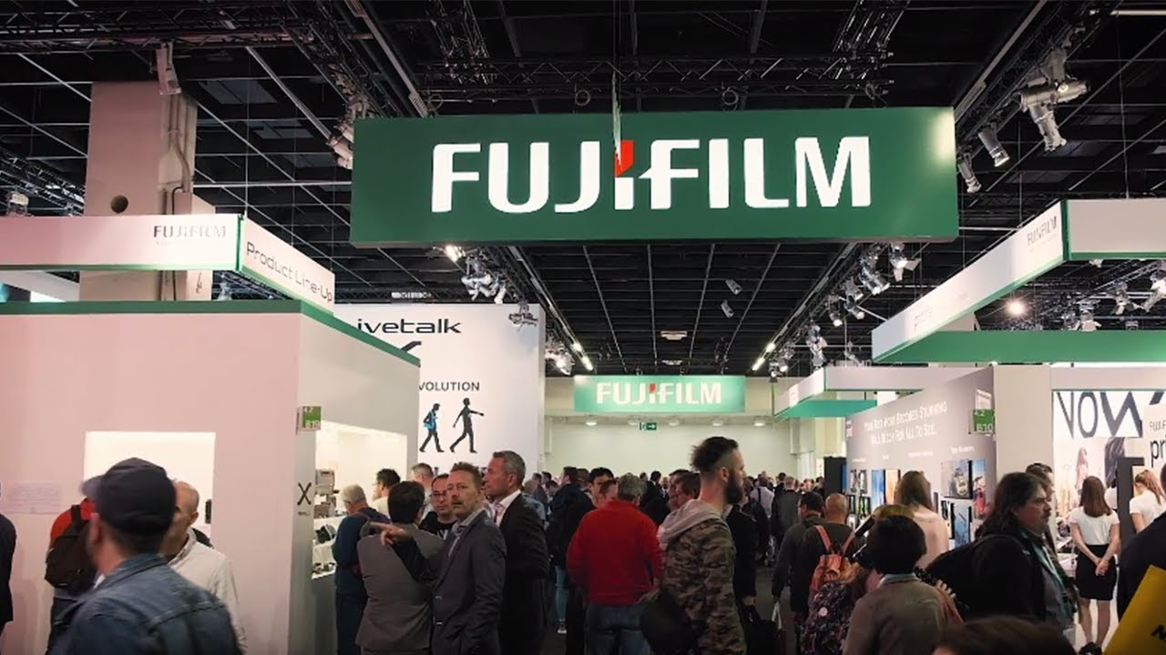 FUJIFILM exhibition at Photokina 2018
