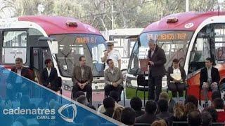 Inaugura Peña Nieto Línea 2 del Mexibús