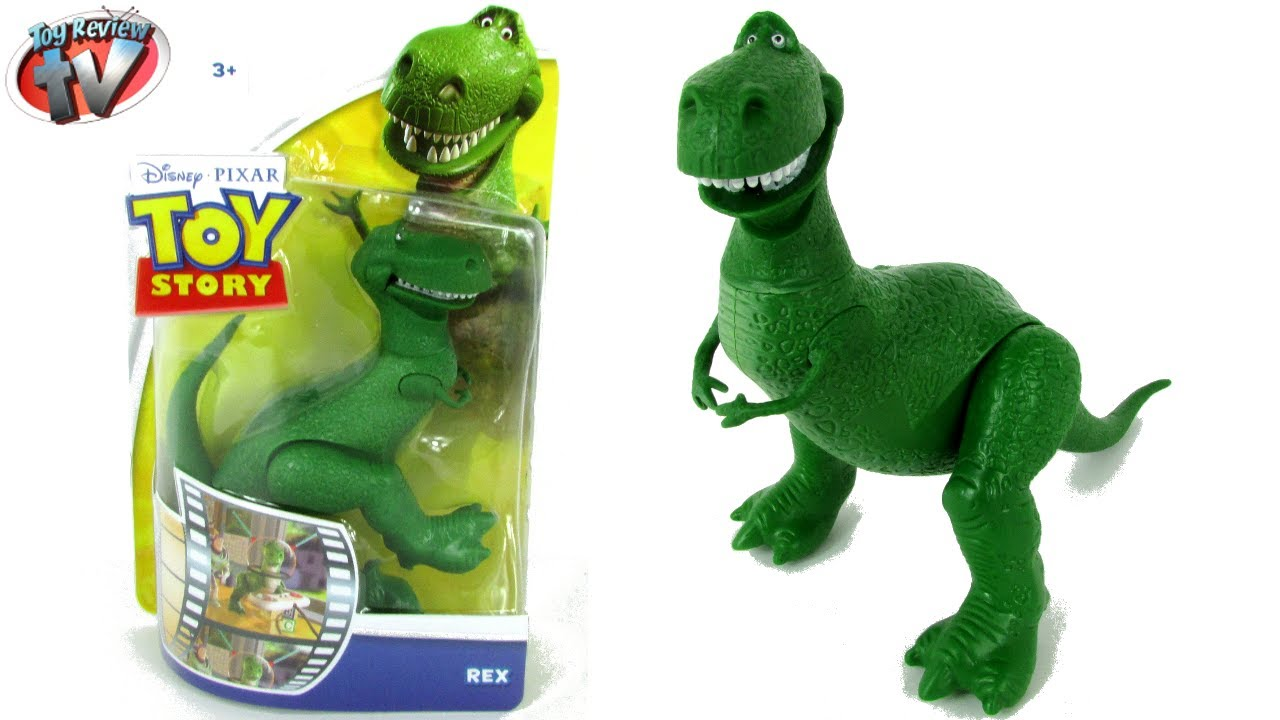 Toy story rex 10cm action figure toy review mattel youtube - Dinosaure toy story ...