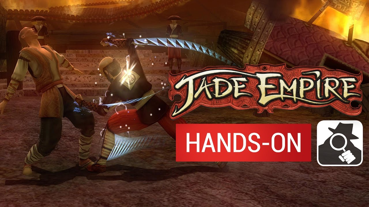 JADE EMPIRE (iPad version) | Hands-On - YouTube