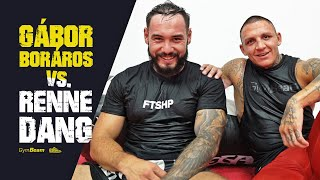 Gábor Boráros VS. Renne Dang 🥊🎤💪 L Tréning A Sparing L GymBeam X Footshop